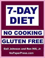 7 Day Gluten Free No Cooking Diet PDF