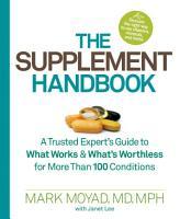 The Supplement Handbook PDF