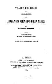 Traité pratique sur les maladies des organs génitourinaires: Volume3