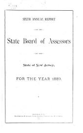 Annual Report of the State Board of Assessors of the State of New Jersey: Volume 6