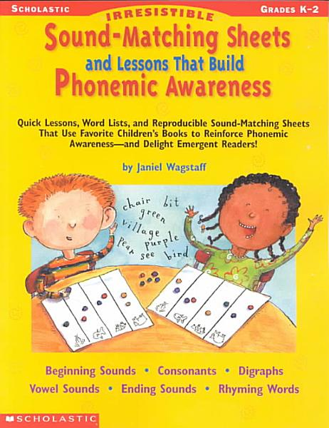 Download Irrestible Sound Matching Sheets and Lessons That Build Phonemic Awareness Book