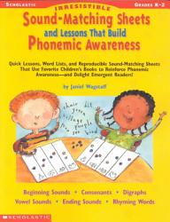Irrestible Sound-Matching Sheets and Lessons That Build Phonemic Awareness