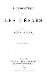 L'opposition sous les Césars