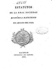 Estatutos de la Real Sociedad Económica Matritense de Amigos del País