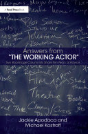 Answers from The Working Actor