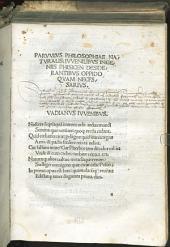 Parvulus philosophiae naturalis