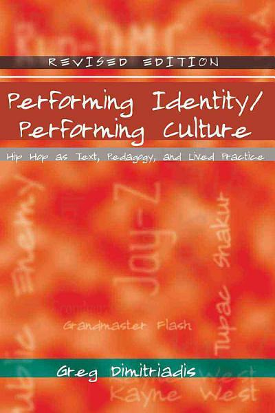 Performing Identity Performing Culture