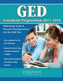 GED Essentials Preparation 2017 2018 Book
