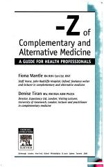 A-Z of Complementary and Alternative Medicine