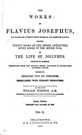 The Works of Flavius Josephus: Volume 2