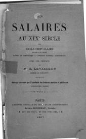 Les salaires au XIXe siècle