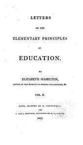 Letters on the Elementary Principles of Education: Volume 2