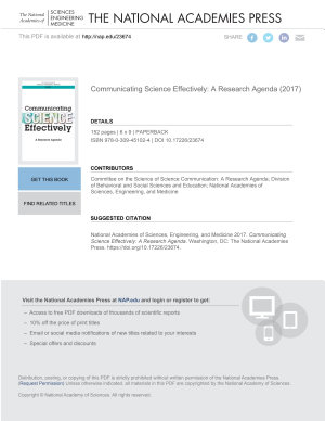 Communicating Science Effectively PDF