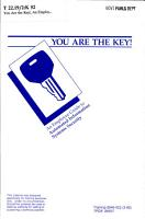 You are the Key  PDF