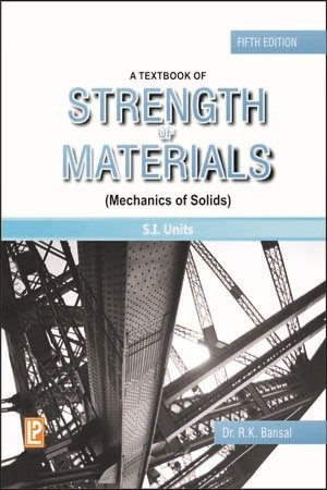 A Textbook of Strength of Materials PDF
