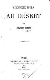 Cinquante jours au désert