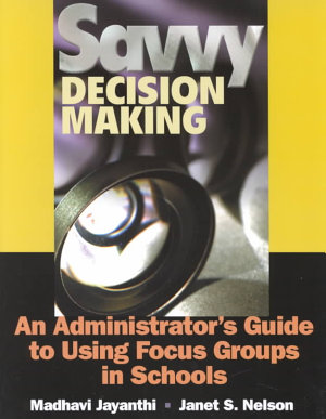Savvy Decision Making