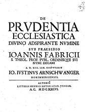 De Prudentia Ecclesiastica