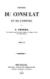 Histoire du consulat et de l'empire: Volume7