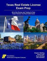 Texas Real Estate License Exam Prep PDF