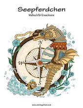 Seepferdchen-Malbuch für Erwachsene 1