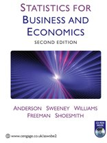 Statistics For Business And Economics Book PDF