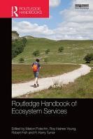 Routledge Handbook of Ecosystem Services PDF