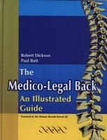 The Medico Legal Back An Illustrated Guide