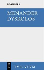 Dyskolos: Griechisch und deutsch