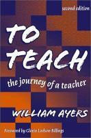 To Teach PDF