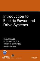 Introduction to Electric Power and Drive Systems PDF