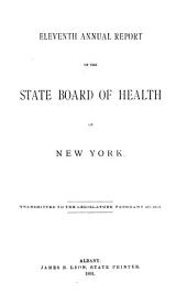 Documents of the Assembly of the State of New York: Volume 11