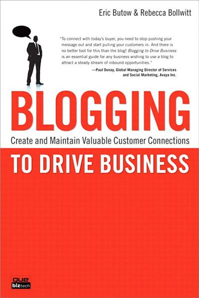 Blogging to Drive Business Pdf Book