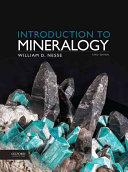 Introduction to Mineralogy PDF