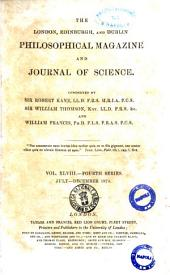 The London, Edinburgh, and Dublin Philosophical Magazine and Journal of Science.