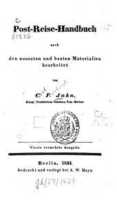 Post-Reise-Handbuch: nach den neuesten und besten Materialien bearb