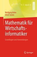 Mathematik f  r Wirtschaftsinformatiker PDF