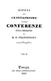 Difesa del cristianesimo, ovvero conferenze sulla religione