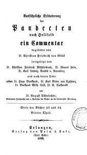 Ausfuhrliche Erläuterung der Pandecten nach Hellfeld: Band 62