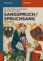 Sangspruch   Spruchsang PDF