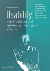 Usability von Produkten und Anleitungen im digitalen Zeitalter PDF
