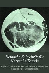 Deutsche Zeitschrift für Nervenheilkunde: Band 22