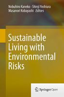 Sustainable Living with Environmental Risks PDF