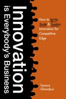 Innovation is Everybody s Business PDF