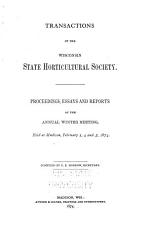 Transactions of the Wisconsin State Horticultural Society PDF
