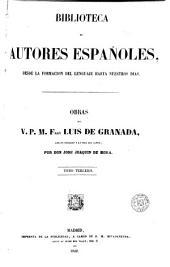 Obras del V.P.M. Fray Luis de Granada, 3