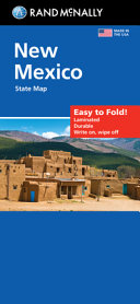 Rand McNally Easy to Fold: New Mexico State Laminated Map