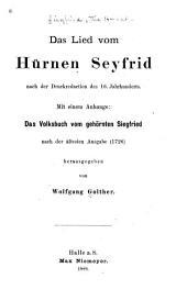Das Lied vom Hürnen Seyfrid: nach der Druckredaction des 16. Jahrhunderts, Ausgaben 81-91