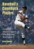 Baseball      s Comeback Players PDF