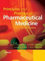 Principles and Practice of Pharmaceutical Medicine PDF